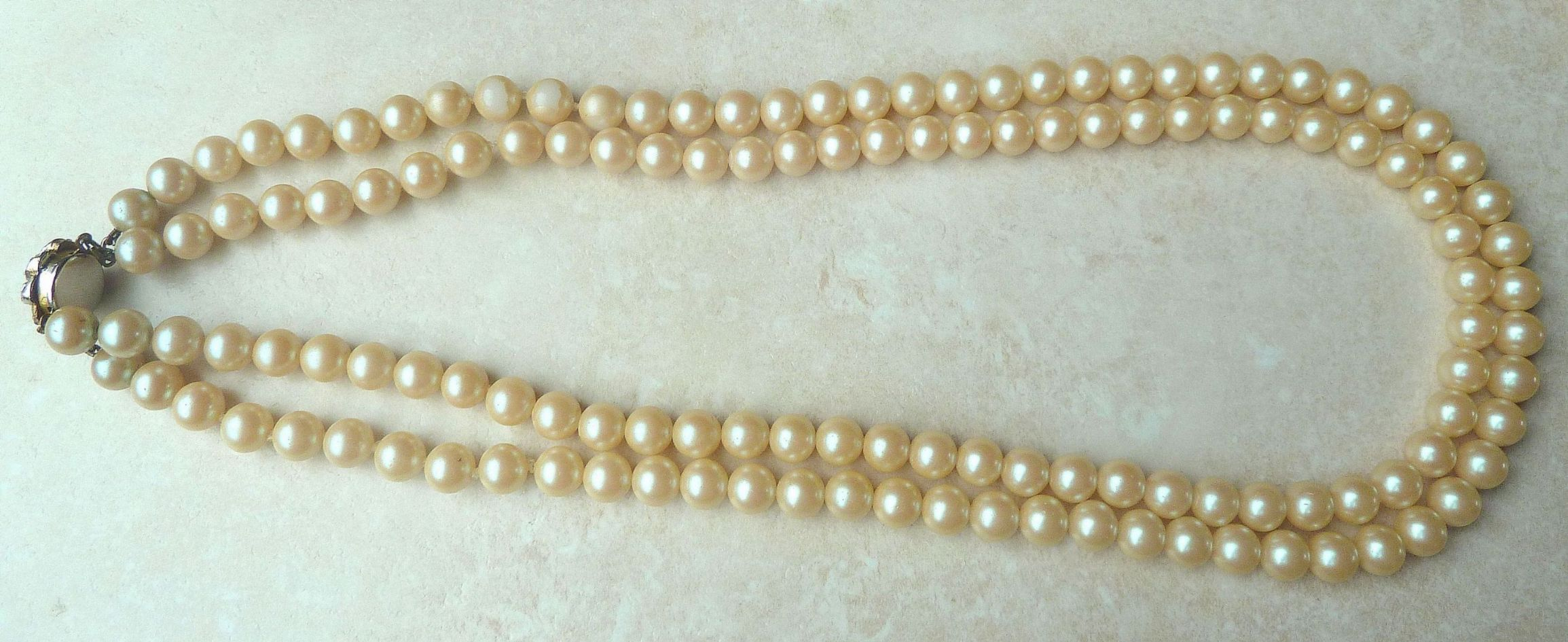 four pearl scene faux necklace s jewellery long strand vintage necklaces juliet